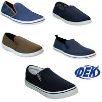 MENS SLIP ON CANVAS ESPADRILLES PLIMSOLLS PUMPS BEACH FLAT TRAINERS CASUAL SHOES