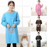 Unisex Grooming Apron Pet Cat Doggy Beauty Groomer Long Sleeve Clothes Uniform