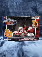 Power Rangers S.P.D. - Radio Control R/C Cycle With Red Ranger NEW