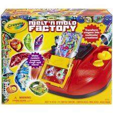 Crayola Melt 'N Mold Factory (74-7060) With 24 Crayons & 2 Molds - Brand New