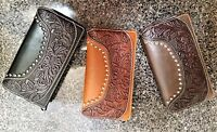 Montana West Genuine Leather Purse Tooling Collection Country Western Wallet