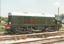 PHOTO  D8001 CLASS 20 NO D8001 (LATER NO 20 001) IN ORIGINAL BR GREEN LIVERY WIT