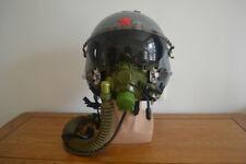 Air Force Light Fighter K-8 Fighter Pilot Protection Helmet,Black Sun-visor,Ym-6