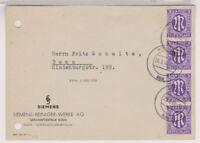 Bizone/AM-Post, Mi. 10Az, 4er-Str., Köln, 29.5.46