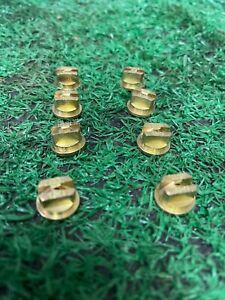 """Teejet OC 06 Brass off centre flat fan 80"""" nozzle pack of 8"""