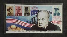 Bletchley Park Philatelic Presentation Pack - Winston Churchill stamps