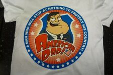 AMERICAN DAD - A MAN WHO WILL STOP AT NOTHING TO PROTECT OFFICIAL T SHIRT