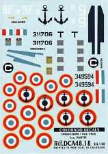 Colorado Decals 1/48 Indochina 1945-54 # 48018