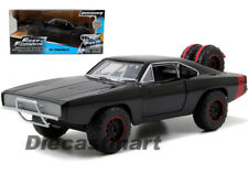 JADA 97038 FAST AND FURIOUS 7 DOM'S 1970 DODGE CHARGER R/T 1:24 OFF ROAD BLACK