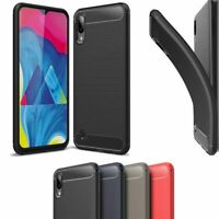 Slim Light Soft Carbon Fiber TPU Case Cover for Samsung Galaxy A10e