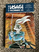 Usagi Yojimbo Saga Volume 1 TPB 616 Pages Stan Sakai OOP HTF RARE Dark Horse
