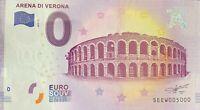 BILLET 0  EURO ARENA DI VERONA ITALIE  2017  NUMERO 5000 DERNIER BILLET