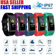 Fitness Smart Watch Activity Tracker Heart Rate Women Men Health iPhone Android