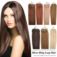 50/100 EXTENSIONS DE CHEVEUX POSE A FROID EASY LOOP 100% NATURELS REMY 53CM AAA