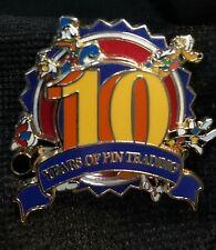 Disney Pin 72228 Disney Pin Trading 10th Anniversary - Spinner