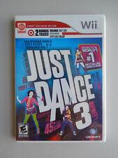 Just Dance 3 Game New & Sealed! Nintendo Wii Bonus Targe Edition