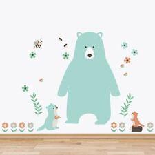 NEW Little Sticker Boy Woodland Animals Wall Decal