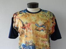 CHEMISTRY Brand Men's XL T-Shirt - Mesh Front - Renaissance Painting Jesus & GOD