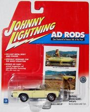 JOHNNY LIGHTNING R2 AD RODS 1965 PONTIAC GTO CONVERTIBLE RLT #23