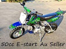 50CC DIRT BIKE POCKET ROCKET CRF50 PEE WEE MOTORCYCLE KIDS SEMI AUTO ELE START