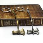 Avengers 3 Thor Axe hammer Keychain llaveros Infinity War Thor Stormbreaker Gift