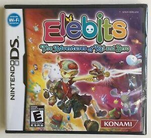 Elebits The Adventures of Kai and Zero (Nintendo DS) Factory Sealed Rare NEW