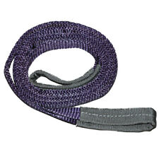 1 Ton * 0.5 Metre Eye to Eye Flat Webbing Sling, 2 Ply, Purple 1 Ton