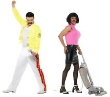 Men's Queen Freddie Mercury Tribute Fancy Dress Costume Festival Pride 80's Icon
