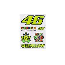 Valentino Rossi VR46 MotoGP Adhesivo 46 bici de la motocicleta/moto pequeña calcomanía