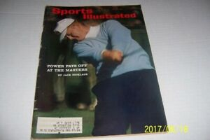 1964 Sports Illustrated THE MASTERS Preview Augusta National By JACK NICKLAUS