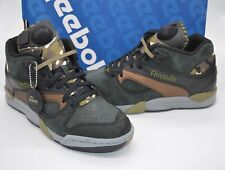 New Reebok Court Victory Pump Camo/Black/Antique Copper RARE Omni sz 9 Retro