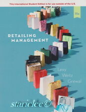 NEW 3 Days to US Retailing Management 10E Michael Levy Barton Weitz 10th Edition