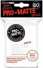 360 6pk Ultra Pro Pro-matte Small Mini Deck Protector Card Game Sleeves White