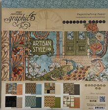 Graphic 45 Artisan Style 12 x 12 Paper Pad Never Opened
