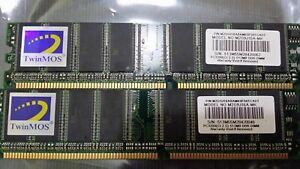 6x TwinMOS 512MB (3 GB Total) DDR2 Memory M2G9J16A-MK
