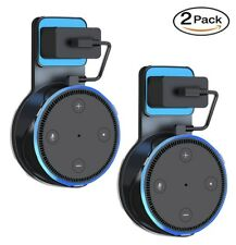 2 Pack Echo Dot Wall Mount Stand Holder Stand for Amazon Alexa Echo Dot 2 Black
