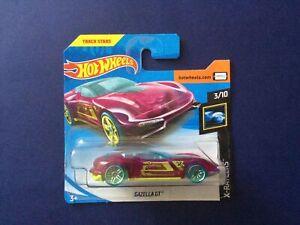 Hot Wheels Track Stars Gazella GT HW X-Raycers #3/10 S/C 1:64