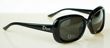 RARE NEW Authentic Christian Dior DIOR Ladycat 2 Black Grey Sunglasses D28NR