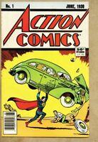 Action Comics #1-1988 fn 6.0 reprint of 1938 Superman 1st comic $0.50 cover
