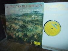 BEETHOVEN: Wellington's Victory + Marches > Berlin Karajan / DG Germany stereo