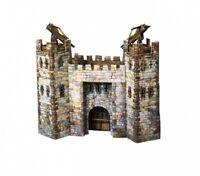 City Main Gate Building War Games Terrain Landscape Scenery Cardboard Model Kit