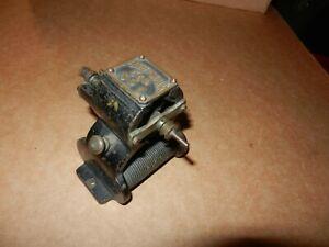 K&D Porter Motor #1,  Teen's/1920's Vintage, Original