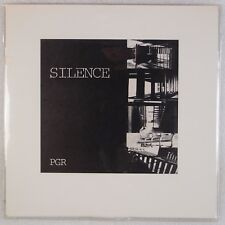 PGR: Silence US Silent '85 Industrial, Experimental, Electronic Vinyl LP NM- Wax