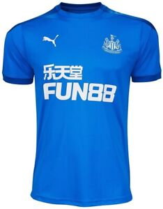 Puma Newcastle United 2020/21 Short Sleeve Mens Training Top - Blue