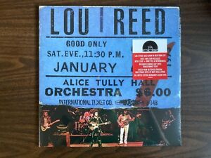 LOU REED LIVE AT ALICE TULLY HALL 2 LP BURGANDY VINYL NEW SEALED RSD 2020 RCA