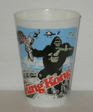 VINTAGE 1976 KING KONG MOVIE PLASTIC CONCESSION CUP New Old Stock