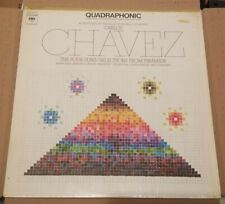 CARLOS CHAVEZ QUADRAPHONIC THE FOUR SUNS LP