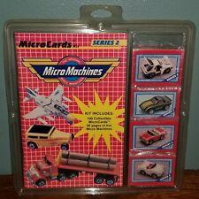 Vintage Galoob Micro Machines Micro Cards & Book Series 2 NOS