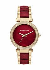 Michael Kors MK6427 Womens Watch - Gold/Red