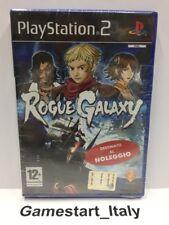 ROGUE GALAXY - SONY PS2 - NEW SEALED - RENTAL VERSION - PAL VERSION